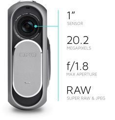 The DxO ONE plugs directly into your iPhone with a simple click. Once it is connected, the iPhone's Retina display immediately transforms into the camera's viewfinder, allowing you to compose the image and adjust every setting.