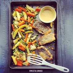 Roasted Vegetables with Honey & Mustard Dressing