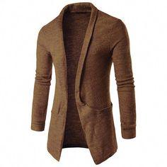 6fbddbff3 Classic Men Sweater Open Fashion Cardigan Autumn Winter Long Sleeve Men s  Cardigan Outwear  casualmensfashion Cashmere