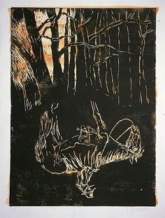 Im Wald und auf der Heide (Ich zeige Karl May), 2006, by Georg Baselitz