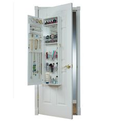 Over the Door Jewelry Armoire | Ultimate Organizing Gift Guide for the Entire Family | Good Life Organizing