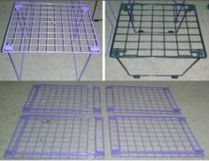 $19.99 FIVE (5) Stacking Wire Locker Organizing Storage Shelves 4 Purple & 1 Black 11 x 9.5 in *!* GET PAID TO PIN *!* pincredibles.com/?r=Tina4Music#sthash.61AN5sGr.dpuf Locker Organization, Organizing, Storage Shelves, Lockers, Tile Floor, Castle, Wire, Flooring, Purple