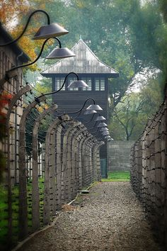 Auschwitz - Poland. Hard to believe such a peaceful looking place could have such a horrid history.