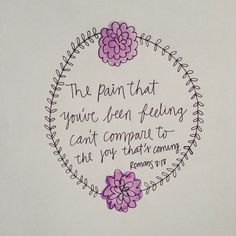Romans 8:18 | art by GabyDoodles.