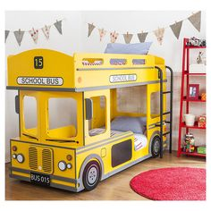 london double bus lit superpos rouge bus london lit 2 personnes emob4kids d coration. Black Bedroom Furniture Sets. Home Design Ideas