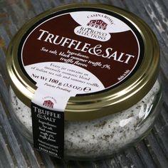 Truffle and sea salt blend
