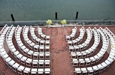 curved ceremony seating!