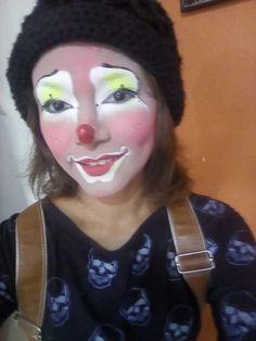 Female Clown, Clowns, Carnival, Lady, Girls, Painting, Makeup, Mardi Gras, Little Girls