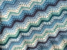 Ravelry: Tinaspice's Rippling Clusters This is my version of the 6 day kid blanket