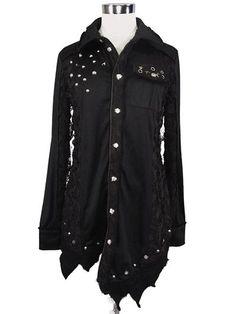 SEX POT ReVeNGe/ BLACK SEEK Cut Shirt