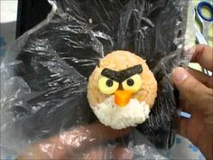 How to make Angry Birds bento