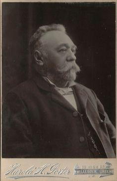 Cabinet photo Victorian Man Beard Fashion - Porter of Willesden Green London