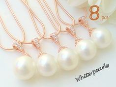 Will You Be My Bridesmaid Gift Set Of 8 12% Off by Crystalshadow