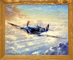 Upgrade the interiors of your house by getting home this wonderful spitfire painting framed art poster. The Spitfire was the brainchild of designer Reginald Mitchell and evolved from his experience with the early super marine seaplane racers. This aircraft entered World War II in 1939 and was known as the Spitfire. This framed art will be a great addition to your home décor and brings nice visual impact into your living room. You'll be proud to hang this framed art on your walls of your…