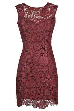 http://www.lilyboutique.com/whats-new/alythea-metallic-lace-overlay-fitted-dress-in-burgundy.html