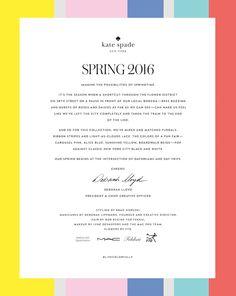 kate spade new york spring 2016 Fashion Graphic Design, My True Love, Fashion Plates, Inspire Me, Pretty In Pink, Fashion Art, Kate Spade, Design Inspiration, Dream Job