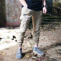 Khaki jogger cargo pants from @TeesGoods . #teesgoods