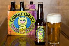 Three Floyds Gumballhead:  So good. Grapefruity, then bitter, then finishes nice and clean.  Happiness in a glass.