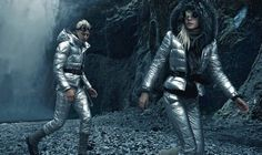 Pyper America and Lucky Blue Smith for Moncler. Click on the image to read more.