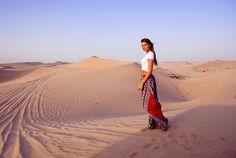 Desert safari & sunset BBQ #InAbuDhabi