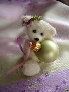 felted bear