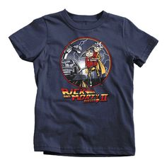 Rick and Morty Back To The Future 2 T-Shirt Funny Cheap Tees TextualTees.com - 3