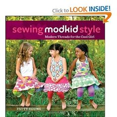 For anyone that loves color, pattern and unexpected design. This book is a great starter for sew-at-home ladies with baby fashionista's.