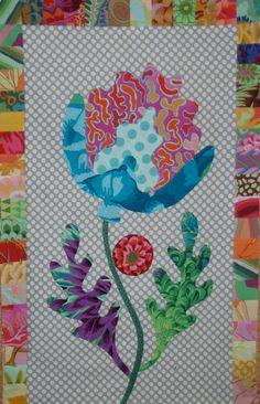 FOLK ART FLOWER - Kim McLean Flower Garden
