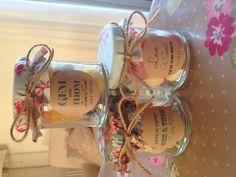 Bespoke jam jar wedding favours by Sweet & Pretty