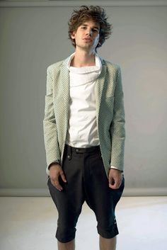 Christian Westphal's Menswear Collection for Spring/Summer 2012