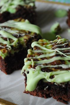 Key Lime Cheesecake Brownies