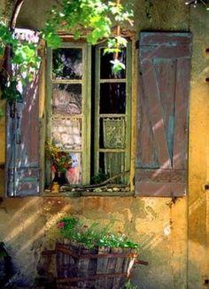 a luz, a janela inspiram