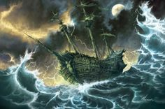 Ghost Pirate Ship Photos | GHOST SHIP - SHIP, PIRATE, GHOST, OCEAN