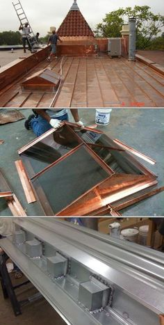 Kraftwerks Sheet Metal & Slate, Inc. is a professional roofing contractor. They specialize in copper, tin and slate roofing. They fabricate custom skylights, cornice and more.