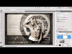 ▶ Kreative Bilderrahmen für Ihr Werk - Die Photoshop-Profis - Folge 101 - YouTube