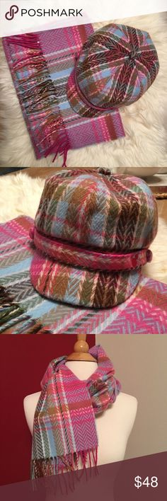 """Disney hat and scarf set Hat size: YOUTH circumference:24"""" scarf length:62"""" width: 12"""" Disney Accessories"""