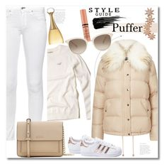 """""""Winter"""" by vkmd ❤ liked on Polyvore featuring Christian Dior, Hollister Co., Miss Selfridge, rag & bone, DKNY, adidas, Bee Goddess, NYX, Chopard and Urban Decay"""