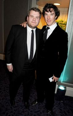 James Corden & Benedict Cumberbatch