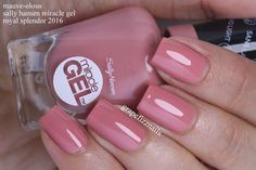 Image result for sally hansen miracle gel mauve-ulous
