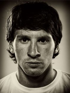 Lionel Messi, by Hamish Brown.