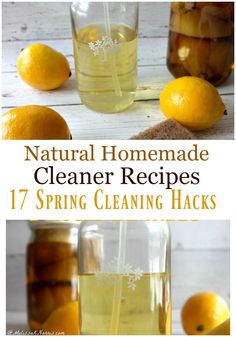 Natural Homemade Cleaner Recipes 17 Spring Cleaning Hacks - Melissa K. Natural Cleaning Recipes, Homemade Cleaning Products, Natural Cleaning Products, Homemade Bleach, Natural Cleaners, Cleaners Homemade, Birkenstocks, Spring Cleaning, Cleaning Hacks
