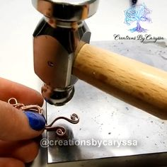 In this video I show how I make some of my favorite pendants ❤️ If interested in purchasing similar handmade jewelry visit my new website 🤗 jewelry tutorials videos Simple Wire Wrapping Tutorial Handmade Wire Jewelry, Wire Jewelry Designs, Wire Jewelry Making, Jewelry Making Tutorials, Jewelry Ideas, Jewelry Crafts, Jewelry Findings, Wire Tutorials, Jewelry Accessories