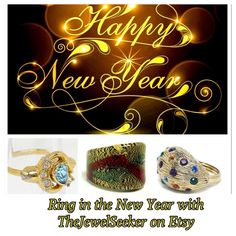 Looking for extra bling?   Ring in the new year with #Vintage #Jewelry !!!  #NewYearPhotoChallenge #TeamLove