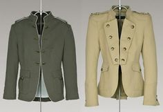 Bathory Doll: Chaquetas militares