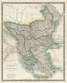 Antique Map of Turkey