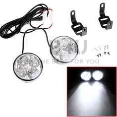 Fog light, also allow you drive safely.