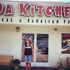 da kitchen café in kahului: we found this place on yelp last time, and it was great hawai'ian food.  i dunno if i can fit this into my paleo diet, or if i'll just have to use a cheat day for this.  my review from the last trip: http://www.yelp.com/biz/da-kitchen-cafe-kahului?hrid=e2qsr7Yk-kIfrpRjy_ygPg