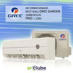 """GREE é aqui na Arclube!  Preço e mais informações: http://www.arclube.com.br/ar-condicionado-split-wall-gree-garden-12000-btu-h-frio-220v-1326.html  - Ar Condicionado Split Wall Gree Garden 12000 btu/h Frio 220v  - """"Ar condicionado Split Wall Gree Garden integra soluções em climatização proporcionando bem estar para você em ambientes comerciais ou residenciais."""""""