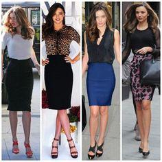 pencil skirt miranda ker look
