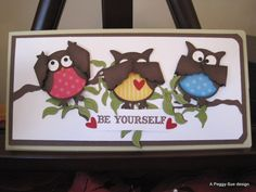1000 Images About Owlcards On Pinterest Owl Punch